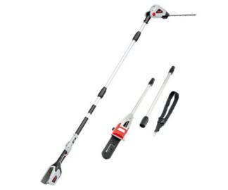 AL-KO EnergyFlex 2-in-1 40PPLRK battery long reach hedge cutter / pole pruner kit