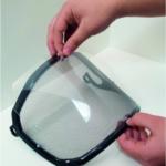 Pfanner Protos clip-on clear visor