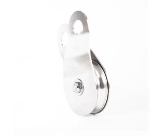 Portable Winch 90kN swing cheek single pulley