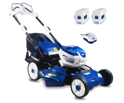 Zomax ZMDM541 battery self-propelled four wheeled lawn mower (53cm cut) (Kit (with batteries & charger))