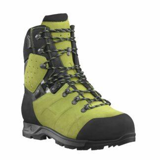 Haix Protector Ultra 2.1 GTX chainsaw boots (Lime) (Class 2)