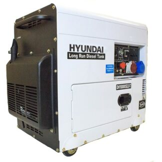 Hyundai DHY8000SELR-T 3-phase 'silent' long-run diesel generator