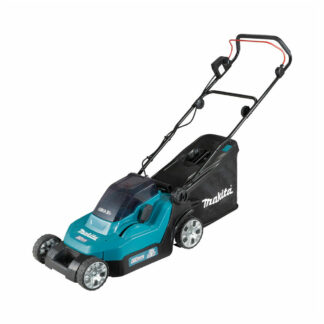 Makita DLM382Z Twin 18V LXT battery push lawn mower (38cm cut) (Shell only (no battery & charger))