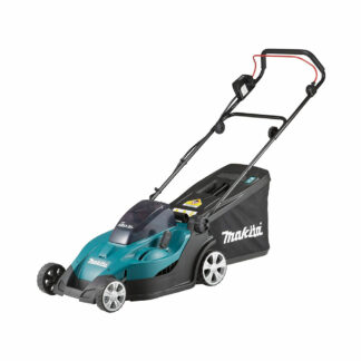 Makita DLM431Z Twin 18V LXT battery push lawn mower (43cm cut) (Shell only (no battery & charger))