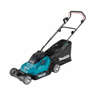 Makita DLM432Z Twin 18V LXT battery push lawn mower (43cm cut) (Shell only (no battery & charger))
