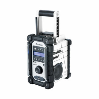 Makita DMR110W 18V LXT DAB/DAB+ battery job site radio (Shell only (no battery & charger))