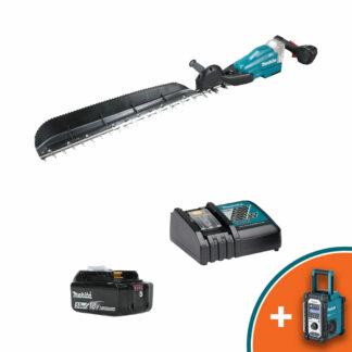 "Makita DUH754SRT 18V LXT Brushless battery hedge trimmer (30"" cut) (Kit (with battery & charger))"