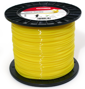 Oregon 2.0mm Yellow Starline strimmer line (155m)