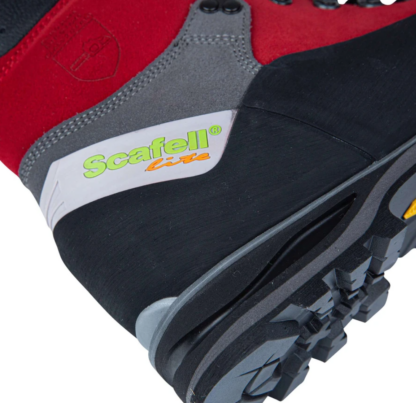 Arbortec Scafell Lite Red chainsaw boots (class 2)