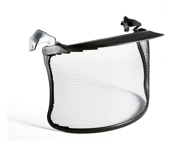 3M stainless steel mesh visor (V4) (with fittings)