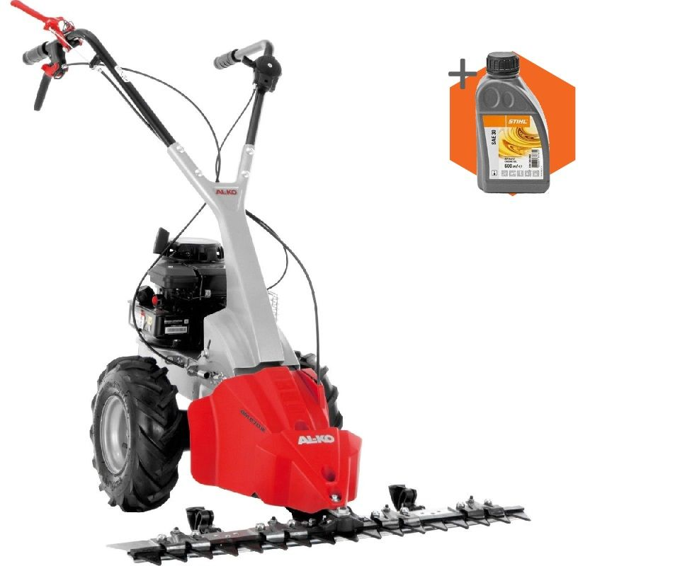 AL-KO BM870 III petrol self-propelled two wheeled scythe mower (34