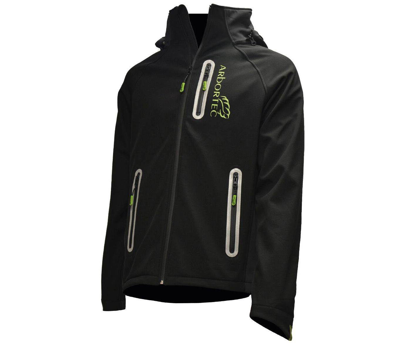 Arbortec Caiman water resistant softshell jacket (Black) (Large)