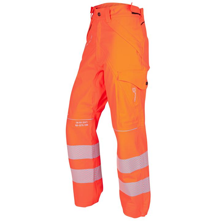 ATHV4145 Arborflex Storm Trousers (Hi-Vis Orange)