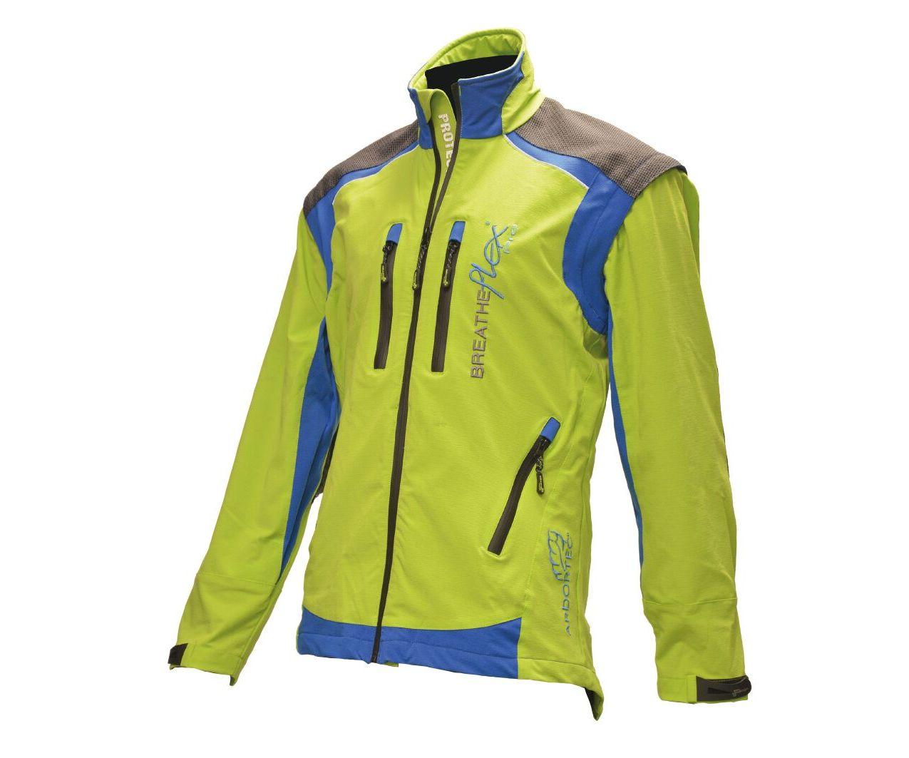 Arbortec Breatheflex Pro performance work jacket (Lime)