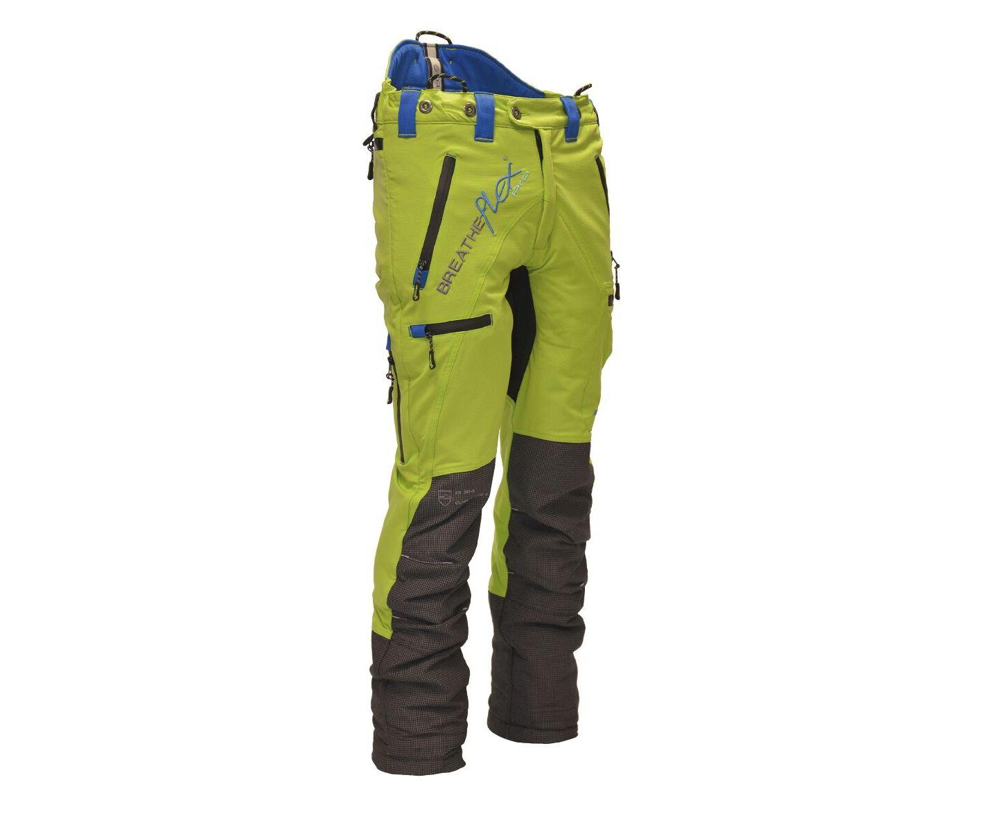 Arbortec Breatheflex Pro chainsaw trousers Type C, class 1 (Lime) (Large, Long leg)