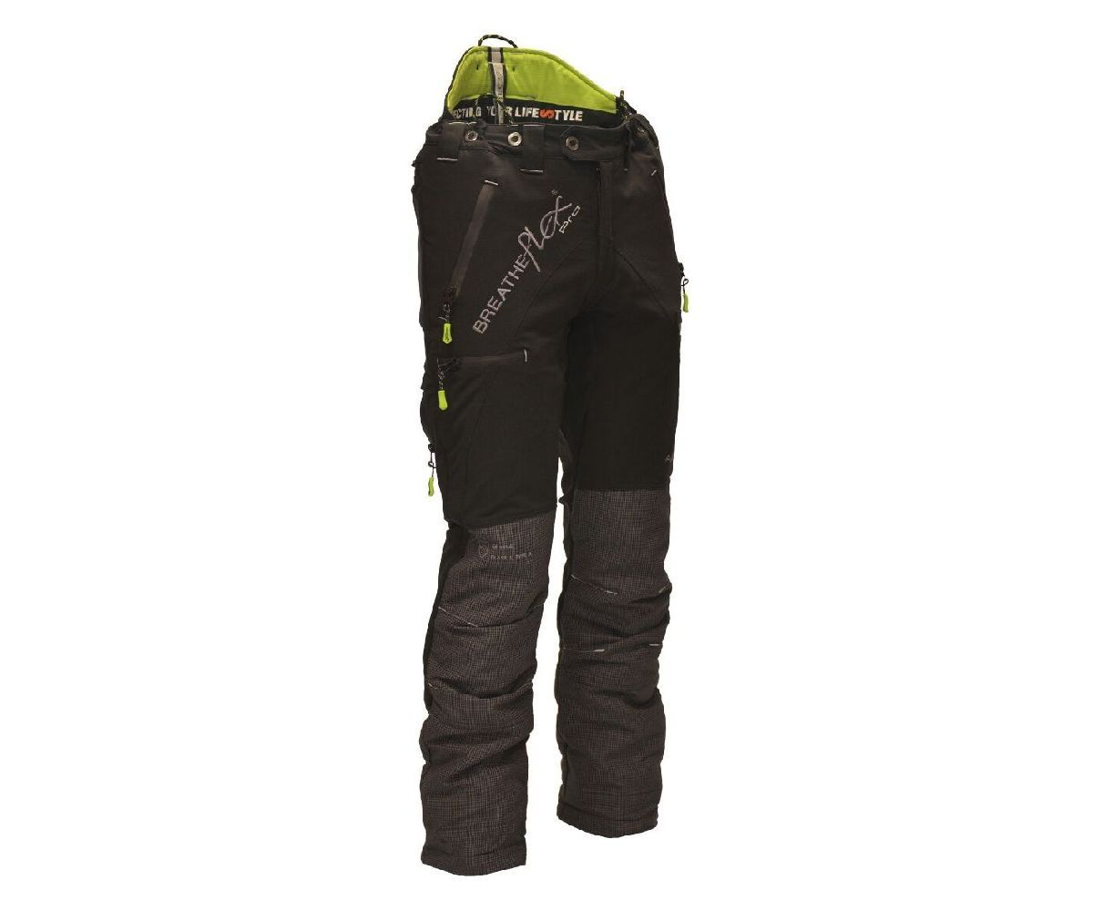 Arbortec Breatheflex Pro chainsaw trousers Type C, class 1 (Black)