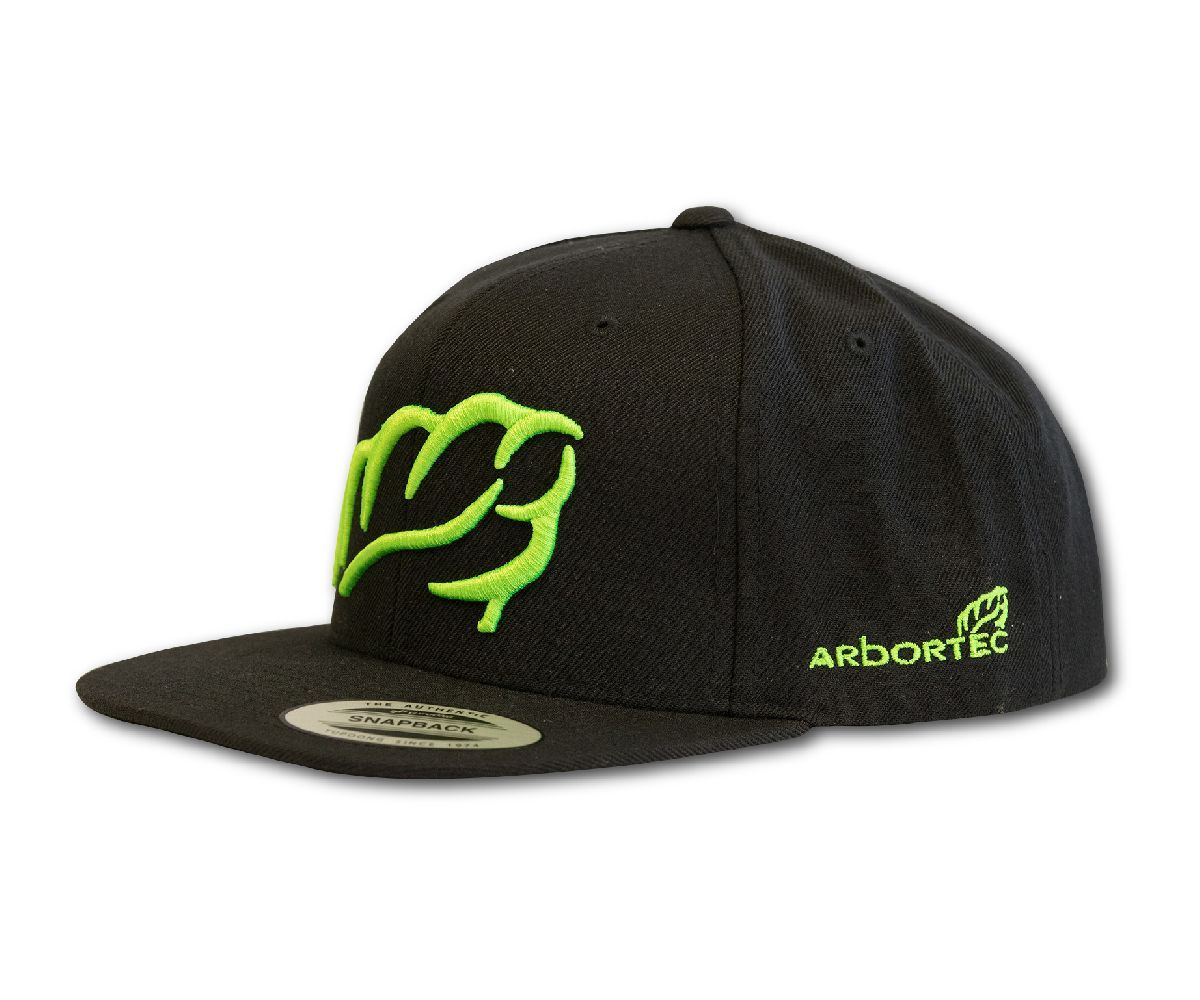 Arbortec baseball cap (Black / Lime)