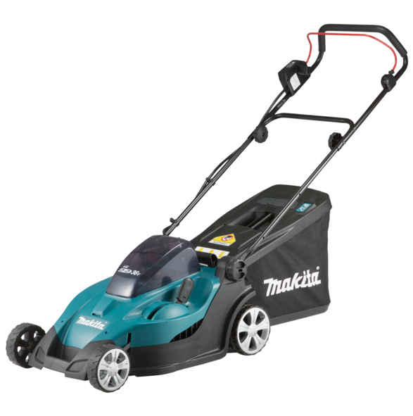Makita DLM431PG2 18Vx2 LXT battery lawn mower (43cm cut)