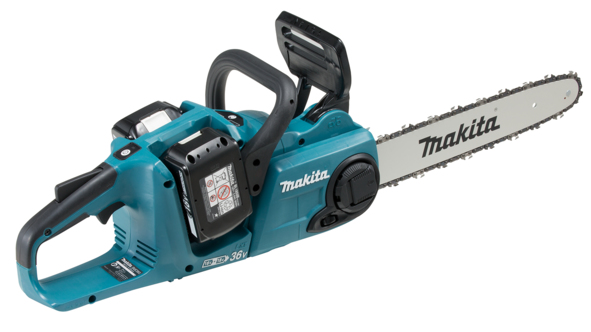 Makita DUC353PG2 18Vx2 BL LXT battery chainsaw (14