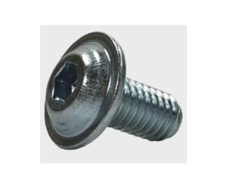 Distel Lens head screw M6X12