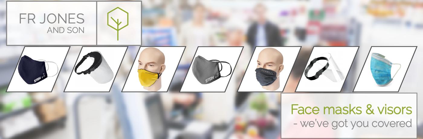 Face masks and visors