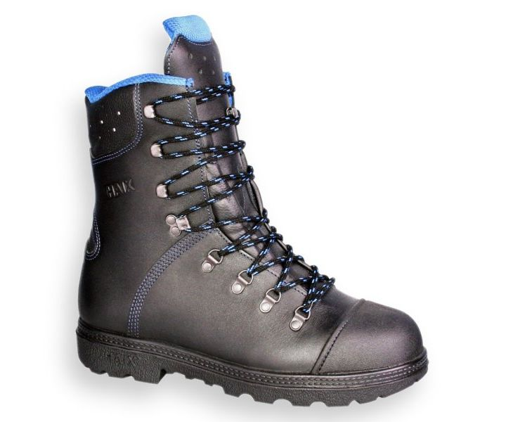 Haix Blue Mountain chainsaw boots (class 1)
