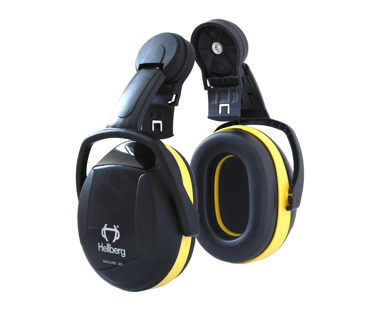 Hellberg Secure 2 ear defenders for helmet (29 SNR)