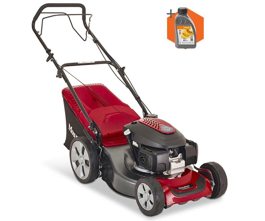 Mountfield SP46 Elite petrol self propelled four wheeled lawn mower (46cm cut)