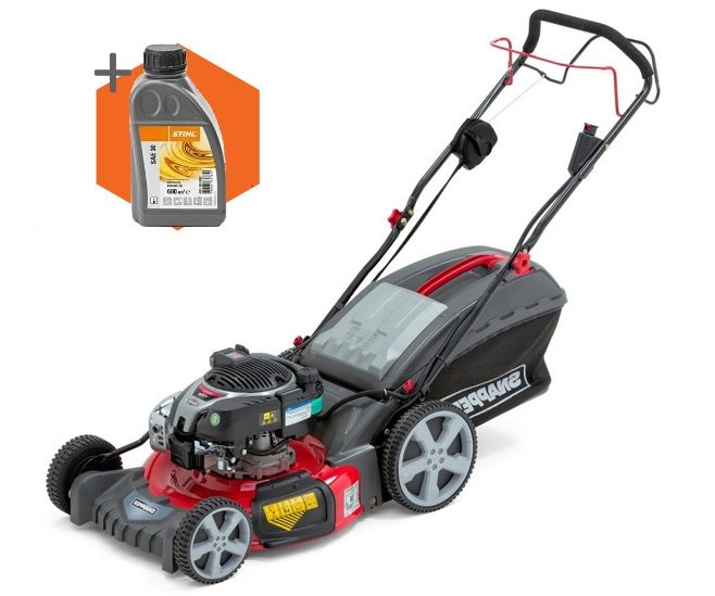 Snapper NX-90S petrol self-propelled four wheeled lawn mower (21