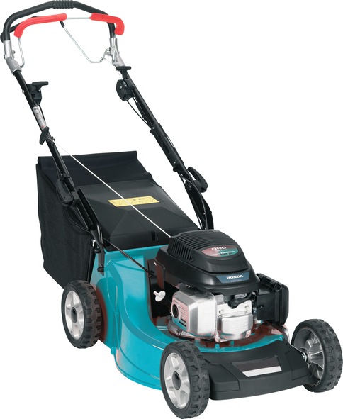 Makita PLM5115 self-propelled four wheeled lawn mower (20