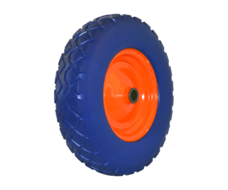 Stein Arbor-Trolley replacement solid wheel (Blue) (replaces pneumatic wheels)