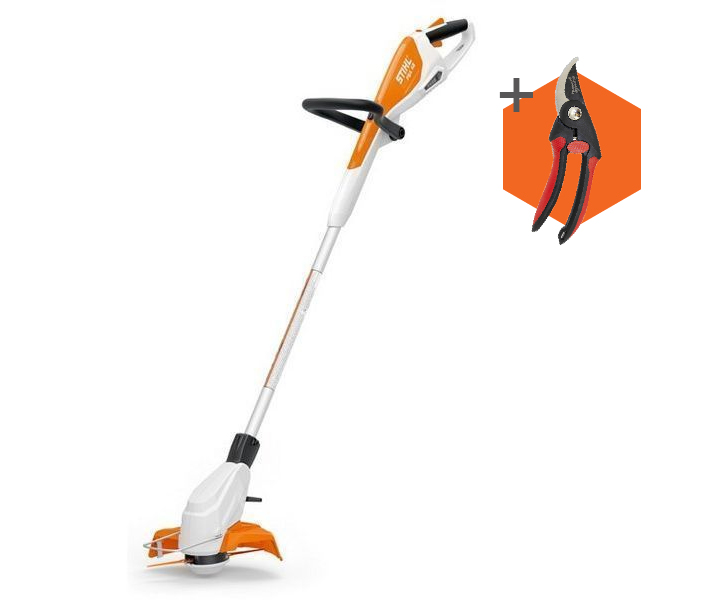 Stihl FSA 45 cordless battery grass trimmer (integrated battery) (comes with Wilkinson Sword secateurs)