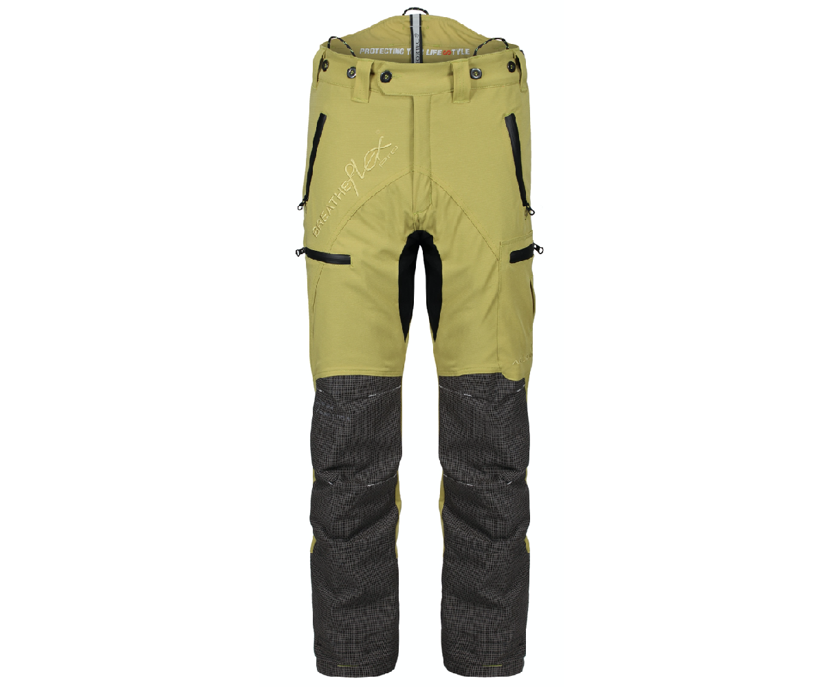 Arbortec Breatheflex Pro chainsaw trousers Type C, class 1 (Citrine)