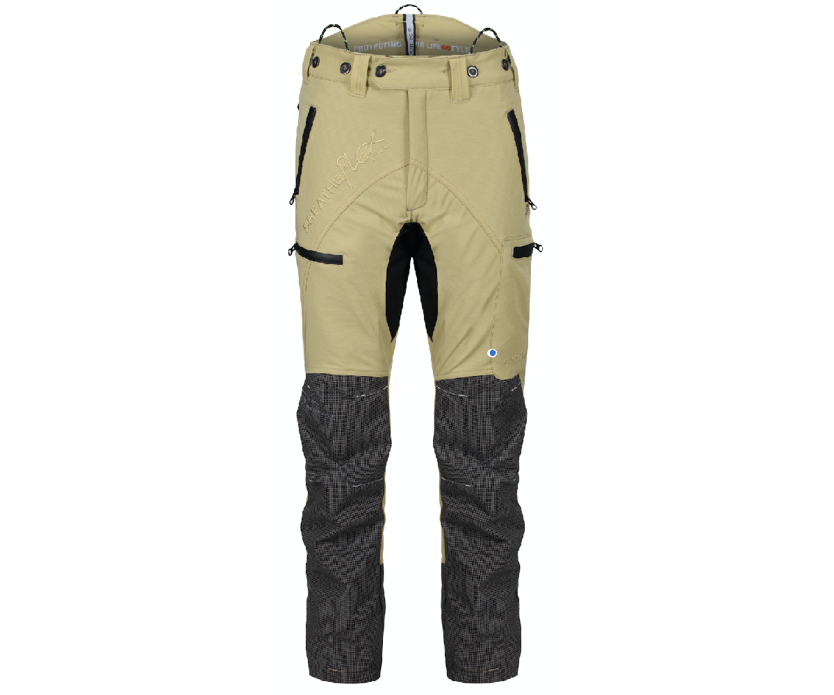 Arbortec Breatheflex Pro chainsaw trousers Type A, class 1 (Beige)