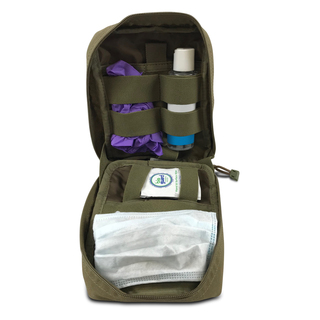 Stay Safe Individual PPE Kit with Sandstone Pouch