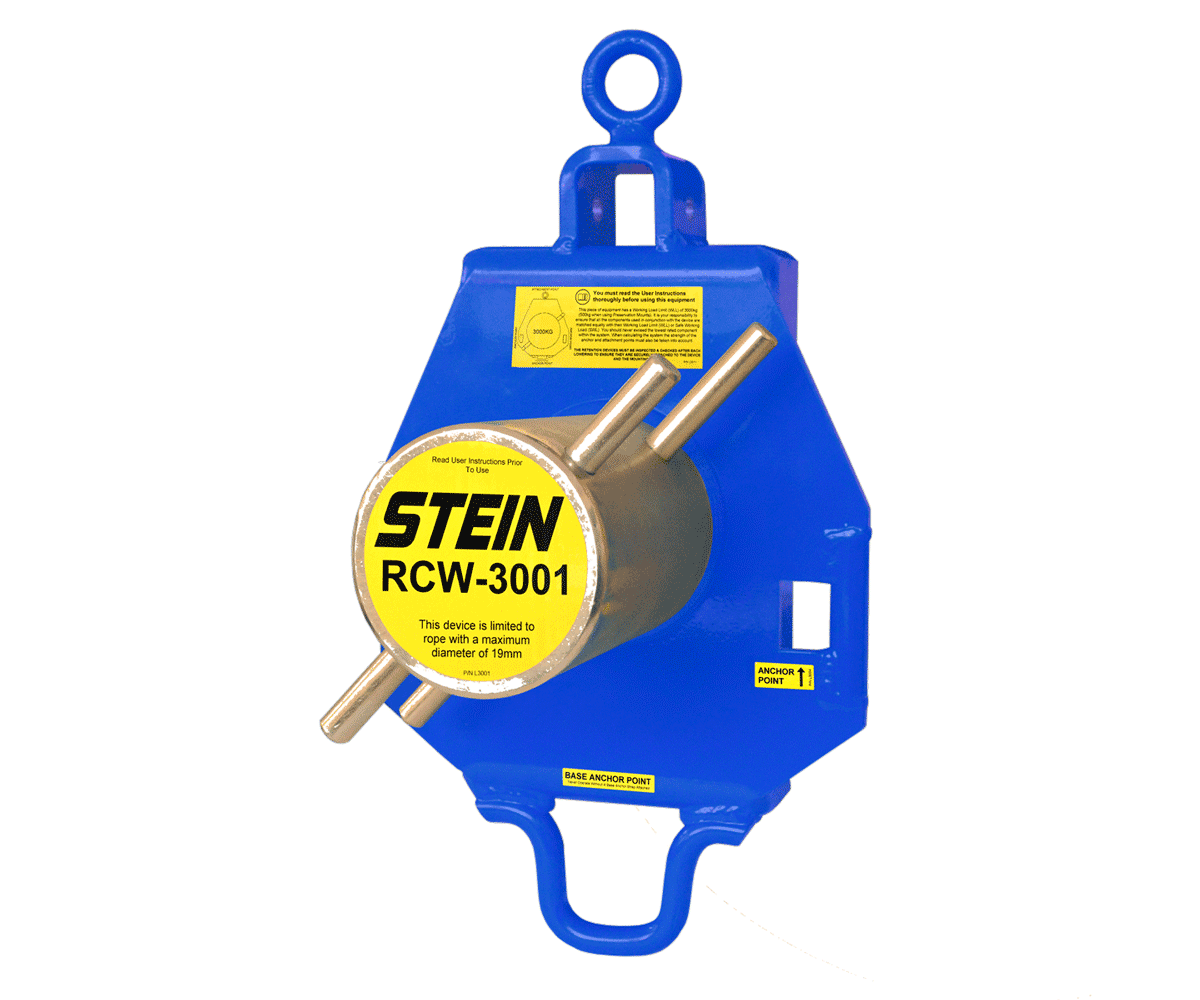 Stein RCW3001 single bollard lowering device