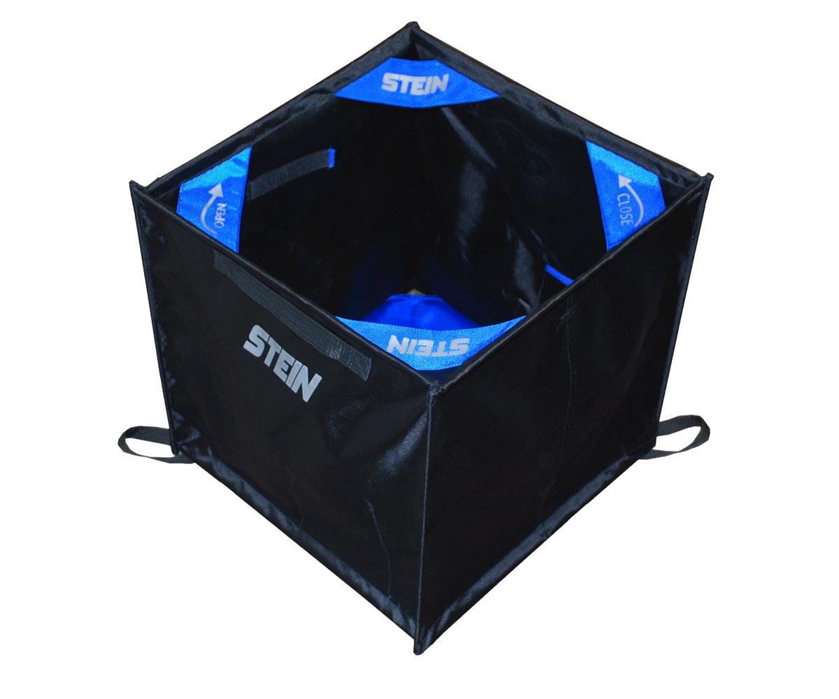 Stein folding throwline cube