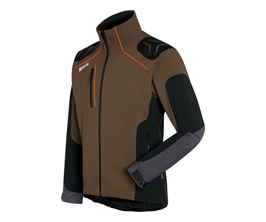 Stihl Advance X-Shell jacket (brown/black)