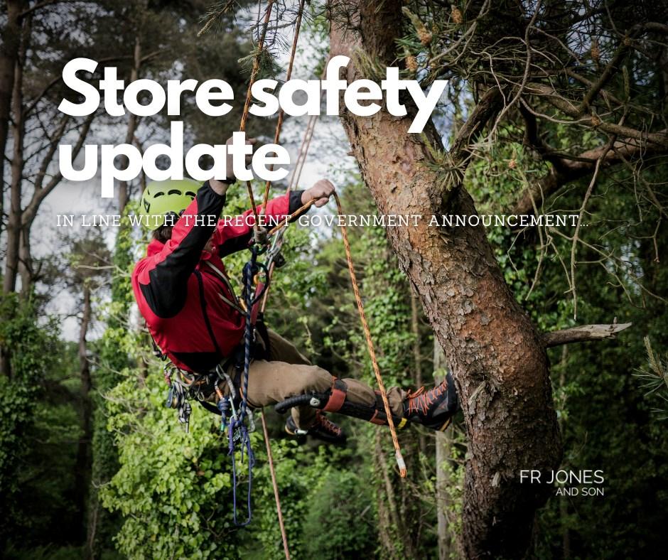Lockdown store safety notice