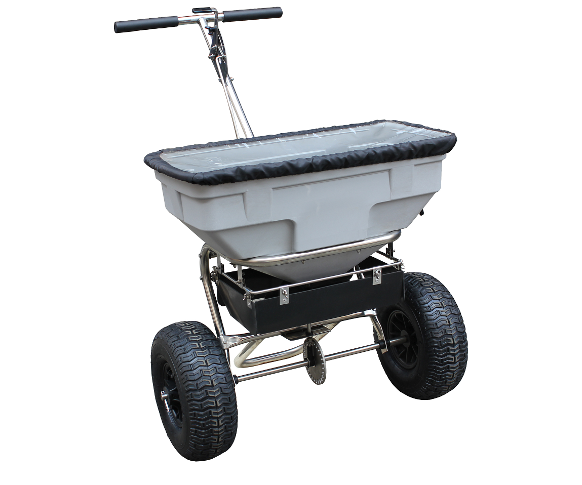 Tondu TPSS125 push poly salt spreader (57kg capacity)