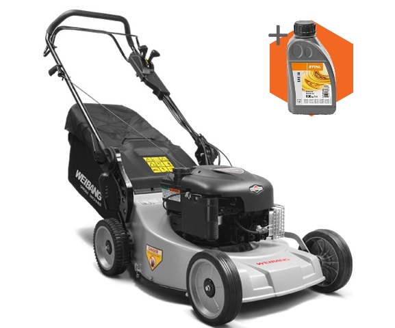 Weibang Virtue 48 AV petrol self-propelled four wheeled lawn mower (48cm cut)