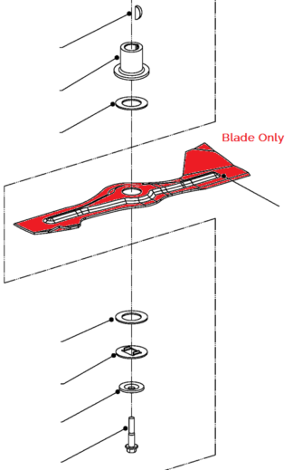 Weibang standard blade for Virtue 53 PRO BBC