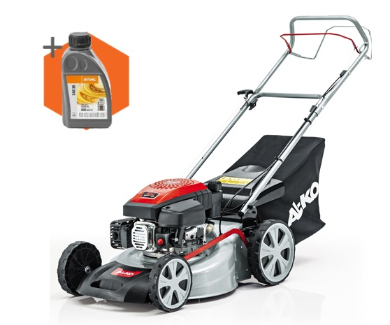 AL-KO Easy 4.6 SP-S petrol self-propelled four wheeled lawn mower (46cm cut)