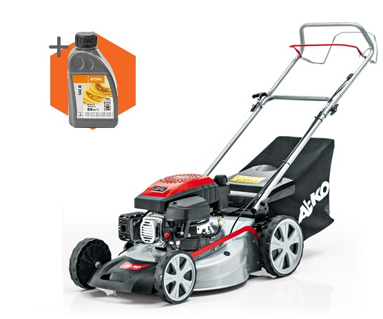 AL-KO Easy 5.1 SP-S petrol self-propelled lawn mower (51cm cut)
