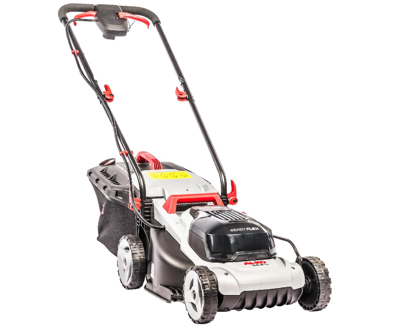 AL-KO EasyFlex 34.8 Li battery push four wheeled lawn mower (34cm cut)
