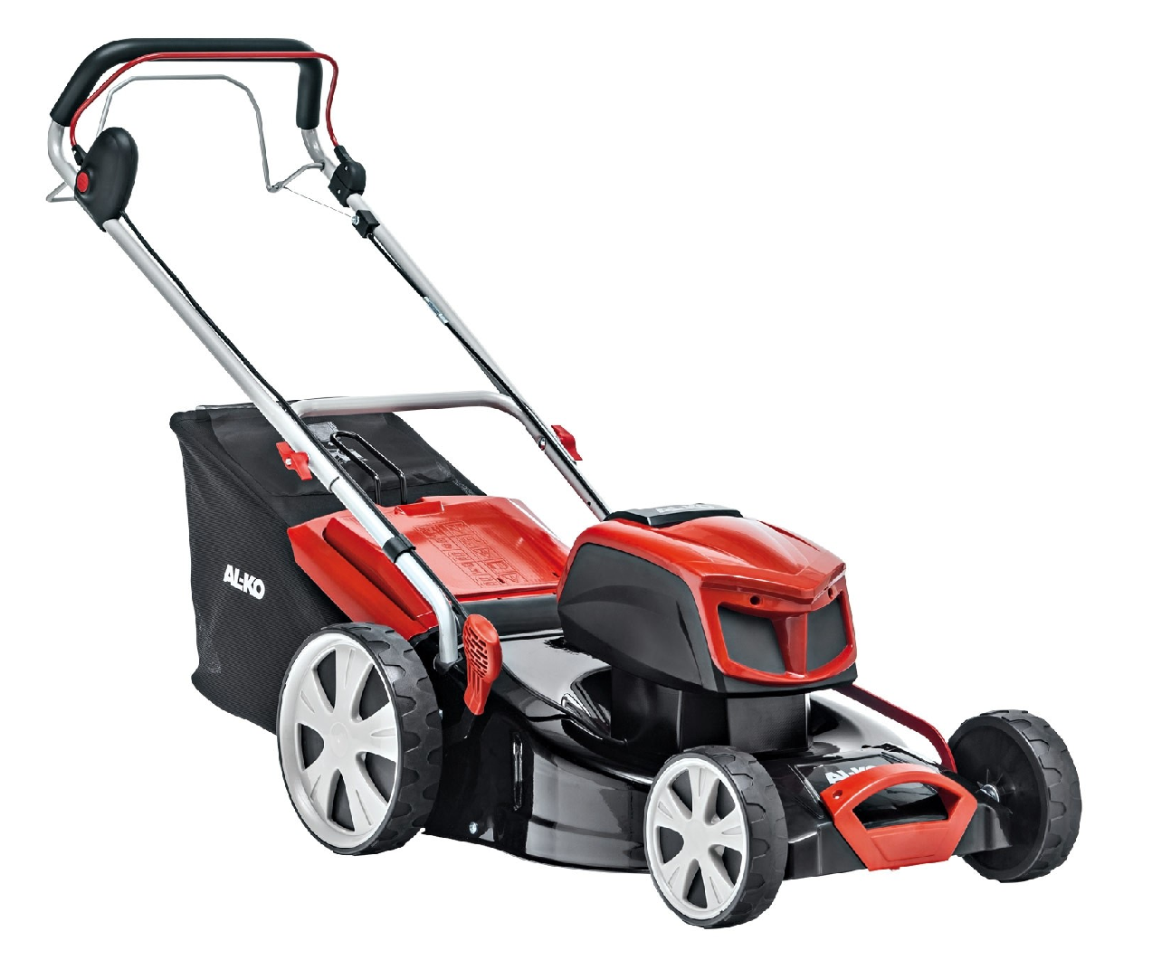 AL-KO EnergyFlex 4.69Li SP Moweo battery self-propelled four wheeled lawn mower (46cm cut)