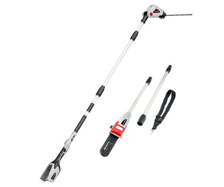 AL-KO EnergyFlex 2-in-1 40PPLRK battery long reach hedge cutter / pole pruner kit