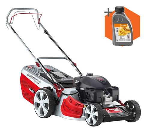 AL-KO Highline 51.0 SP-H petrol self propelled four wheeled lawn mower (51cm cut)