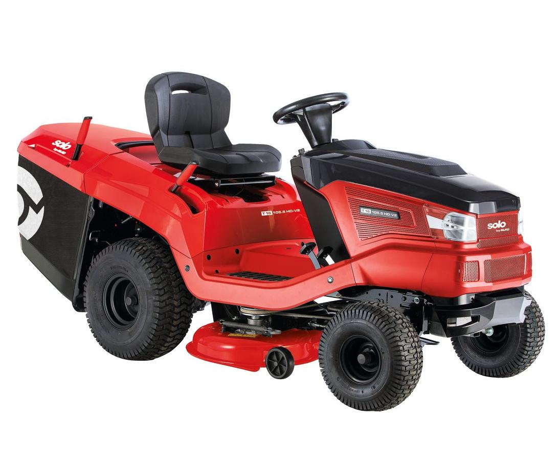 AL-KO SOLO T16-105.6 HD V2 lawn tractor (105cm cut)