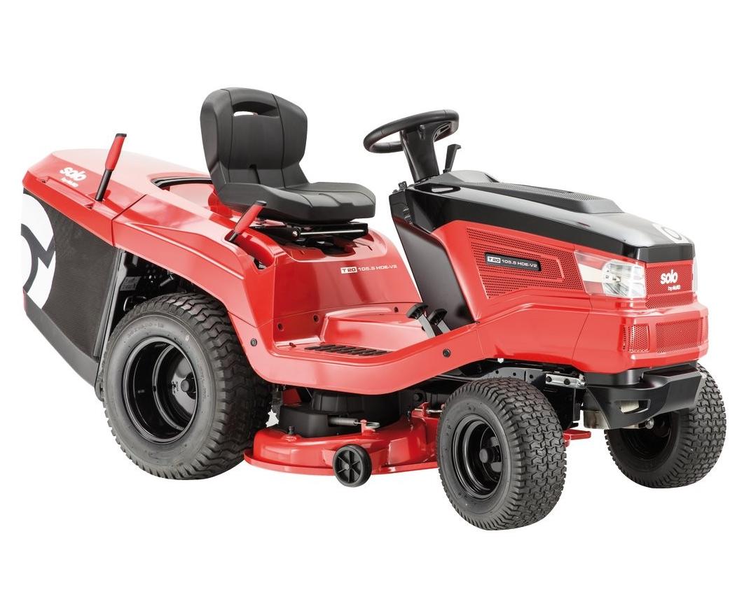AL-KO SOLO T20-105.6 HD V2 lawn tractor (105cm cut)